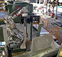 BHP robotic handling