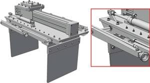 RA patented light-weight gripper