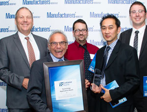 RA wins Manufacturers' Monthly Endeavour award 2016