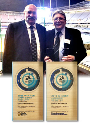 RA wins PACE Zenith awards 2016